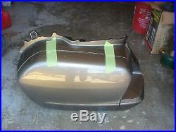 01-10 Honda Goldwing GL1800 LEFT Side Saddlebag Bag Lid Door Complete OEM