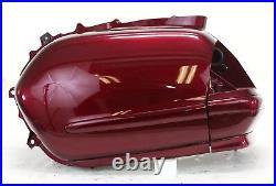 04 05 & 09 Honda GL1800 Left Complete Saddlebag Bloodstone Red, 2009 Goldwing