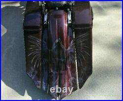 14-19 Touring Stretched Harley Complete Saddlebag lids, side cover shrouds dash