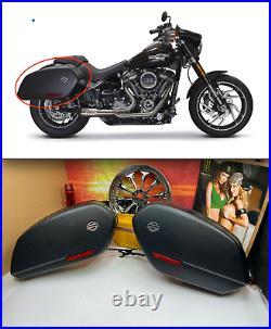 18-20 Harley Sport-Glide Saddlebags RH & LH Complete