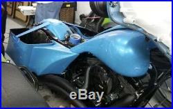 2009-2013 Harley Davidson Complete Saddlebags Custom Bagger Kit Package
