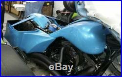 2014-19 Harley Davidson Complete saddle bags custom Touring bagger kit package