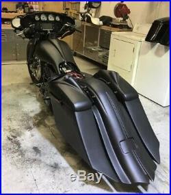2014-2019 Harley Davidson Complete Saddlebags Custom Touring Bagger Package kit