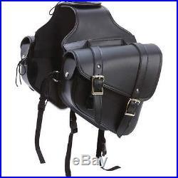 2Pc SMALL SLANTED SADDLE BAG SET FOR HONDA SHADOW SABRE ACE 1100 T/Over Styl