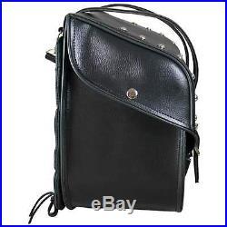 2Pc Water Resistant PVC SADDLE BAG SET FOR HONDA AHADOW MAGNA VTX T/Over Style