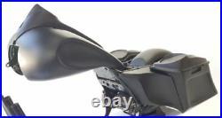 6Angled Bottom SaddleBags Complete Bagger Kit Harley Davidson Bagger Road King