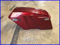 96-2013 Harley Davidson OEM Saddlebags Complete No Key