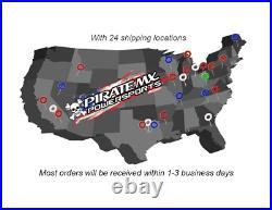 BC Complete Saddlebag Latch Kit Hardware Harley-Davidson Tour Glide 1993-1996