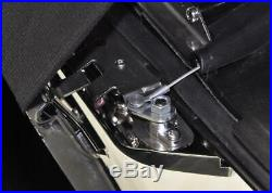 Bagger Brothers Complete 4.5 Extended Saddlebag Kit Vivid Black'14-'16 FL