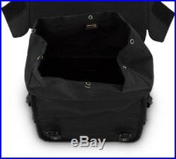 Burly Brand Voyager Throw Over Motorcycle Saddlebags Black B15-1002B