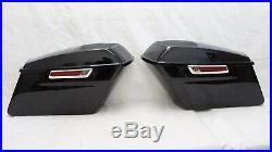 Complete Hard Saddlebags with 6x9 CVO Speaker lids for 2014-up Harley Touring