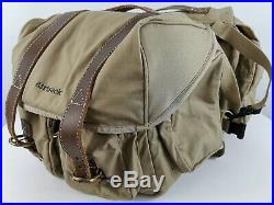 Dirtsack Easyrider Motorcycle Khaki Canvas Saddlebags Panniers Throw Over Bags
