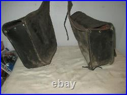 Genuine Harley-Davidson Leather Throw Over Saddlebags (Fits Multiple)