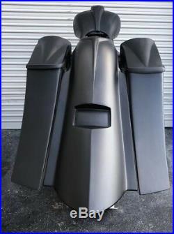 Harley Complete Bagger Touring Kit 6 saddlebags fender tank side cover 09-13