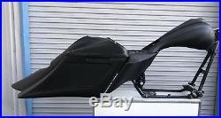 Harley Complete Bagger Touring Kit saddlebags fender tank side cover 09-2013