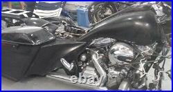 Harley Davidson 7 Extended Saddlebags, Rear Fender Complete Touring 2014-2020