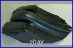 Harley Davidson Complete Stretched Saddlebags bagger Kit Touring 2009-2013