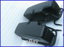 Harley Davidson Dyna Defender Police FXDP Saddlebags complete with Guards & Keys