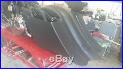 Harley Davidson Flh Bagger Complete Kit saddlebags fender tank side cover Lids