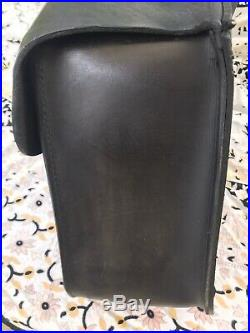 Harley Davidson OEM Leather Saddlebags Universal Throw Over, Mountable Softail+