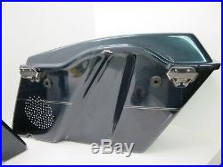 Harley Davidson OEM Touring Saddlebags 97-13 Complete Set