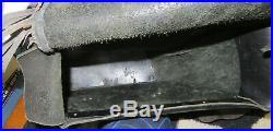 Harley Davidson Saddlebags Fringe Throw Over Dyna FXD OEM