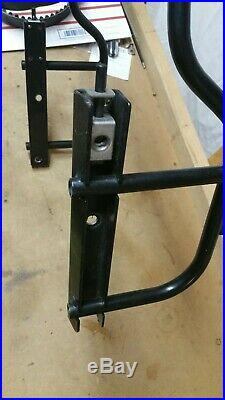 Harley V ROD VRod VRSC Quick Release Saddlebag Bracket / Mount not complete set