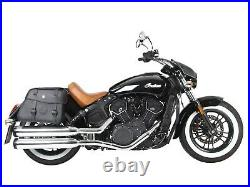 Hepco & Becker Saddle Bags Complete Set Buffalo Black Chrome Indian Scout Sixty