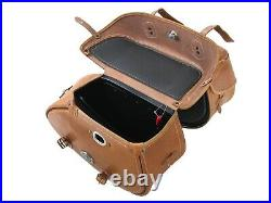 Hepco & Becker Saddle Bags Complete Set Buffalo Braun Indian Scout Sixty New