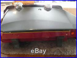 Indian OEM Hard Saddlebags set complete to install on Chief with no or soft bags