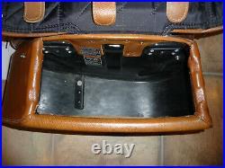 Indian desert tan real leather saddlebags OEM Chief Vintage no fringe complete