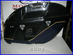Kawasaki VN 1700 VN1700 Vulcan Voyager 2009 2017 Complete saddlebag side bag