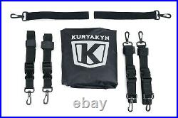 Kuryakyn 5209 Momentum Outrider Throw-over Saddlebags Fits Most Motorcycles