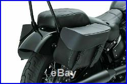 Kuryakyn 5258 Bandito Black Throw Over Saddlebags 13L Motorcycle Universal Fit