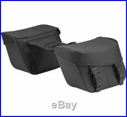 Kuryakyn Bandito Throw-Over Saddlebags Black #5258