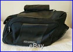 Kuryakyn Brand /Black Throw Over MotorCycle Saddle Bag Luggage Gear