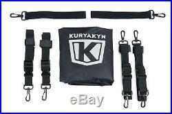 Kuryakyn Momentum Outrider Throw-over Saddlebags 5209