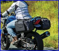 Kuryakyn XKursion XB Fast Lane Throw Over Motorcycle Saddlebags 5293