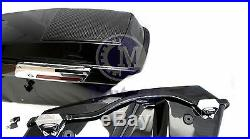 Mutazu Complete Stock Saddlebags with 6x9 Speaker Lids for Harley Touring Models