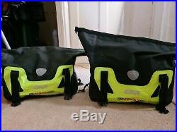 Pair of Throw Over Givi 25ltr waterproof rolltop pannier side bags