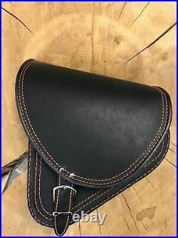 Saddle Bags Saddle Bag Complete Set diablo Orange Black Tool Roll Harley HD