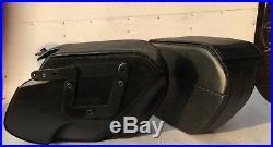 Saddleline Harley Davidson DYNA Fatbob FXDWG saddlebags with complete mounting