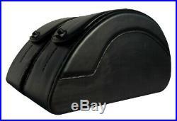 Saddleline Victory GUNNER Leather saddlebags W. Complete mounting Hardware
