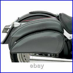Saddlemen Cruis'N Deluxe Motorcycle Throw-Over Saddlebags Versatile Fit