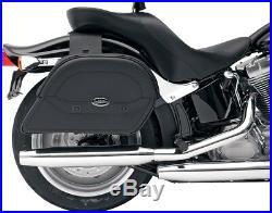 Saddlemen Cruis'N Slant Jumbo 19 Throw-Over Universal Motorcycle Saddlebags