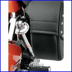 Saddlemen Cruis'N Slant Motorcycle Saddlebags with Shock Cutout Throw Over Mount
