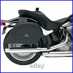 Saddlemen Cruis'N Slant Throw-Over Motorcycle Saddlebags Large Multi-Fit