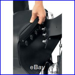 Saddlemen Cruis'n Slant Face Pouch Jumbo Throw-Over Saddlebags Universal Fit
