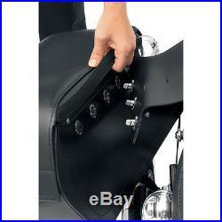 Saddlemen Cruis'n Slant Face Pouch Large Throw-Over Saddlebags Honda Shadow V45