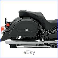 Saddlemen Cruis'n Slant Jumbo Throw-Over Saddlebags Harley Davidson